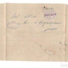 Sellos: COSARIO. RICARDO DIAZ. CADIZ - JEREZ. 1880. VER IMAGEN. Lote 116431215