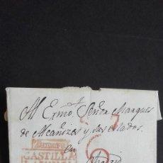 Sellos: PREFILATELIA ZAMORA - MADRID 1832 CASTILLA LA VIEJA NÚMERO 6 MARQUÉS DE ALCAÑICES. Lote 118234599
