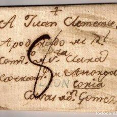 Francobolli: PREFILATELIA. SELLO DE LEÓN (D.P. 15) ASTORGA A CASAS DE DON GÓMEZ (CÁCERES) (1790). Lote 124211979