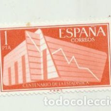 Sellos: EDIFIL 1198. ESTADÍSTICA ESPAÑOLA. NUEVO CON GOMA Y SIN CHARNELA. Lote 125940450