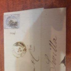 Sellos: ARA PICKMAN CÍA SEVILLA DE MANUEL FERNÁNDEZ AGUILAS SANTIAGO 1871. Lote 126387302