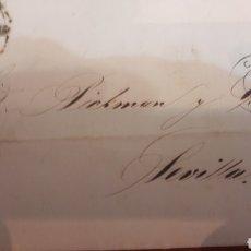 Sellos: 1862 LA CORUÑA. AGUSTÍN CAVANAS A PICKMAN CIA. Lote 126387623