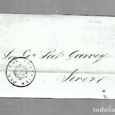 Sellos: COSARIO. COMPAÑIA DEL SOL. DE CADIZ A JEREZ. 1845. Lote 133801078