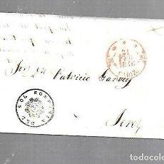 Sellos: COSARIO. COMPAÑIA DEL SOL. DE CADIZ A JEREZ. 1846. CIRCULADO. Lote 133802330