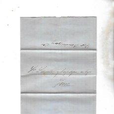 Sellos - COSARIO. POR BERDUGO Y CIA. DE CADIZ A JEREZ. 1861. - 133805382