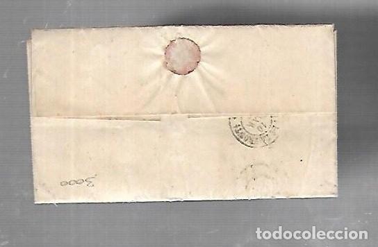 Sellos: PREFILATELIA. CARTA. DE SEVILLA A ARCOS DE LA FRONTERA. 1868. - Foto 2 - 133807738