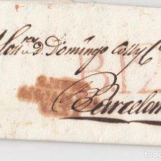 Francobolli: PREFILATELIA. CARTA ENTERA DE MOTRIL, GRANADA, A BARCELONA. 1819. Lote 136031646