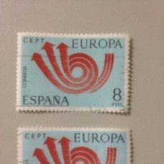 Sellos: LOTE DE SELLOS - ESPAÑA 1973 -EUROPA CEPT- EDIFIL 2126 -8PTAS. Lote 139899914