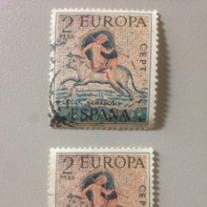 Sellos: LOTE DE SELLOS ESPAÑA 1973 -EUROPA CEPT- EDIFIL 2125 -2PTAS. MULTICOLOR. Lote 139900620