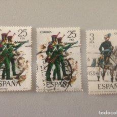 Sellos: LOTE DE SELLOS - ESPAÑA CORREOS, 25 Y 3PTAS. Lote 140037520