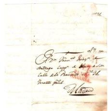 Francobolli: SOBRE PREFILATELIA DE PAMPLONA A MADRID. 28 DE SEPTIEMBRE DE 1831. Lote 143706442