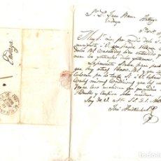 Sellos: SOBRE PREFILATELIA DE SAN SEBASTIAN A HENDAYA (FRANCIA). 12 DE AGOSTO DE 1838. Lote 152286521
