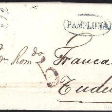 Sellos: 1840. ESPAÑA. SPAIN. PAMPLONA A TUDELA.. Lote 144348118