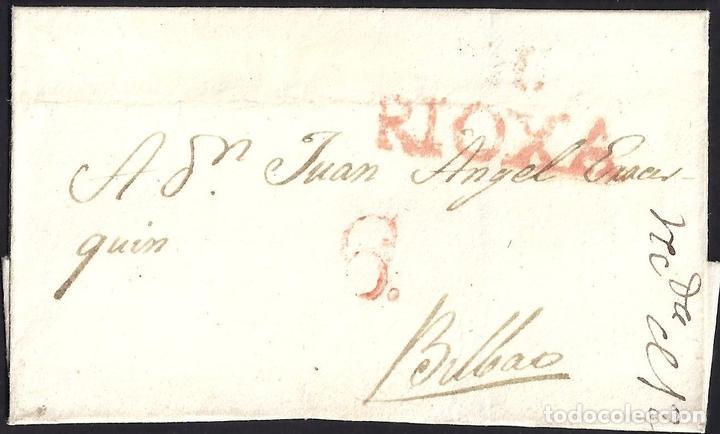 1829. ESPAÑA. SPAIN. HARO A BILBAO. (Filatelia - Sellos - Prefilatelia)