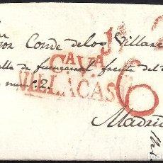 Sellos: 1833. ESPAÑA. SPAIN. VILLACASTIN A MADRID.. Lote 144350172