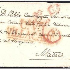 Sellos: 1834. ESPAÑA. SPAIN. VILLACASTIN A MADRID.. Lote 144350232