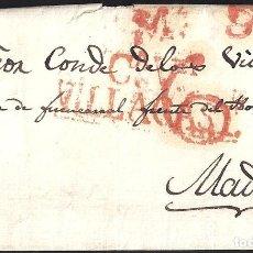 Sellos: 1833. ESPAÑA. SPAIN. VILLACASTIN A MADRID.. Lote 144350448