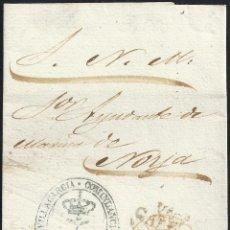 Sellos: 1853. ESPAÑA. SPAIN. VILLAGARCIA A NOYA.. Lote 144352033