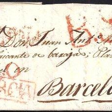 Sellos: 1817. ESPAÑA. SPAIN. MURCIA A MADRID.. Lote 144353389
