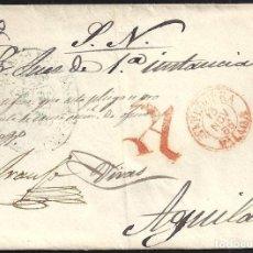 Selos: 1855. ESPAÑA. SPAIN. ANTEQUERA A AGUILAR.. Lote 144353792