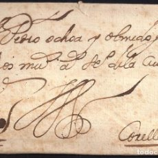 Sellos: PRECURSORES. 1700. ESPAÑA. SPAIN. A CORELLA (NAVARRA).. Lote 144432308
