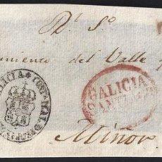 Sellos: PORTEOS. 1839. ESPAÑA. SPAIN. MIÑÓN.. Lote 144434370