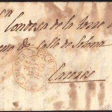 Sellos: CORREO DESINFECTADO. 1850. ESPAÑA. SPAIN. BROZAS A CACERES.. Lote 144857448
