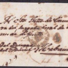Sellos: PREFI-602 CUBA SPAIN STAMPLESS PREFILATELIA 1849 BAEZA MARIEL GREEN 1849. Lote 148461498