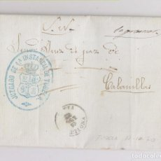 Francobolli: CARTA ENTERA DEL S. N. MARCA DEL JUZGADO DE TUDELA. CABANILLAS. NAVARRA.. Lote 151322798