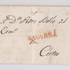 Sellos: PREFILATELIA. CARTA ENTERA DE CASCANTE, NAVARRA, A CORTES. MARCA DE TUDELA. 1831. Lote 151648890