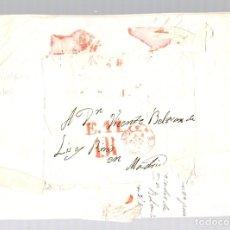 Sellos: SOBRE PREFILATELIA GRAO DE VALENCIA A MADRID. AÑO 1850. Lote 151975476