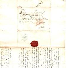 Francobolli: SOBRE PREFILATELIA MADRID A PARIS. AÑO 1832. Lote 151985685