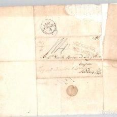 Timbres: SOBRE PREFILATELIA LA HABANA (CUBA) A LONDRES. AÑO 1825. Lote 151987061