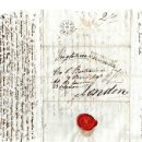 Sellos: SOBRE PREFILATELIA MADRID A LONDRES. AÑO 1834. Lote 152168089