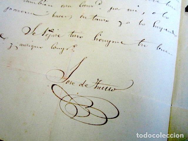 Sellos: AÑO 1847. PREFILATELIA. CARTA PREFILATÉLICA. PAMPLONA. NAVARRA. MADRID. - Foto 3 - 154595254