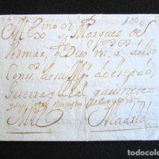 Sellos: PREFILATELIA. CARTA PREFILATÉLICA. CÁDIZ-MADRID ENVUELTA. . Lote 154618874