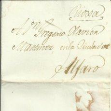 Sellos: MADRID ALFARO 1821, CORREO PRIVADO. Lote 157669254