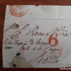 Sellos: FRONTAL CIRCULADA A SEVILLA. Lote 158499838