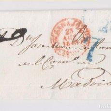 Sellos: PREFILATELIA. ENVUELTA DE BADAJOZ A MADRID. 1843. LUJO. Lote 158607918