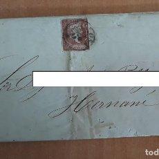 Sellos: CARTA. CORRESPONDENCIA DE TOLOSA A HERNANI. 1859. PAIS VASCO. Lote 160985554