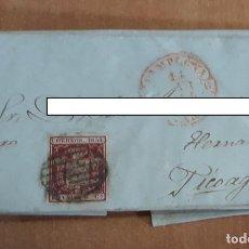 Sellos: CARTA. CORRESPONDENCIA DE PAMPLONA A HERNANI. 1859. PAIS VASCO. Lote 160985726