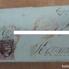 Sellos: CARTA. CORRESPONDENCIA DE PAMPLONA A HERNANI. SIGLO XIX. PAIS VASCO. Lote 160986834