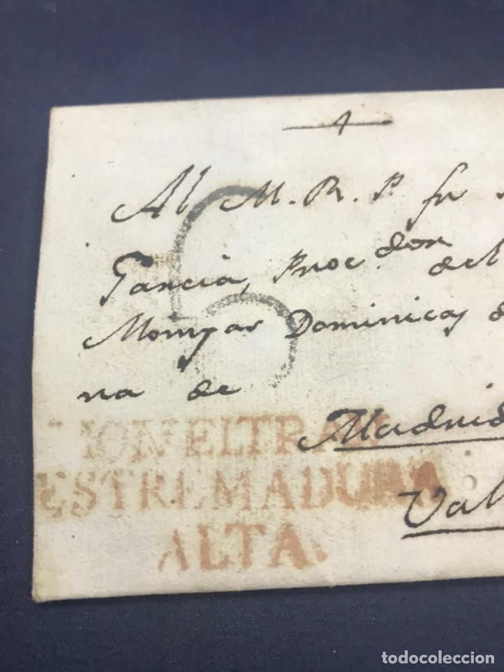 1803. MOMBELTRAN ESTREMADURA ALTA. CARTA COMPLETA. 6. ÁVILA. (Filatelia - Sellos - Prefilatelia)