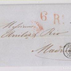 Sellos: PREFILATELIA. CARTA ENTERA DE PARÍS A MADRID. 1850. Lote 164275662