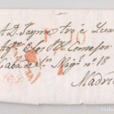 Sellos: PREFILATELIA. CARTA ENTERA. VALENCIA, 1829.. Lote 164630758