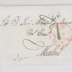 Sellos: PREFILATELIA. ENVUELTA DE ZAFRA. 1845. EXTREMADURA.. Lote 165541170
