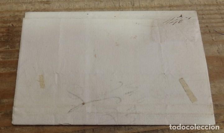 Sellos: 1836, CARTA PREFILATELICA DE TUDELA A CARCANTE - Foto 2 - 144087122