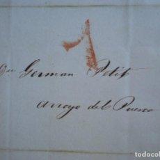 Sellos: CARTA COMPLETA AÑO 1842 MADRID A ARROYO DEL PUERCO CÁCERES PORTEO 7. Lote 167824884