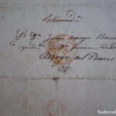 Sellos: PREFILATELIA CARTA AÑO 1851 MADRID ARROYO DEL PUERCO CÁCERES. Lote 167826944