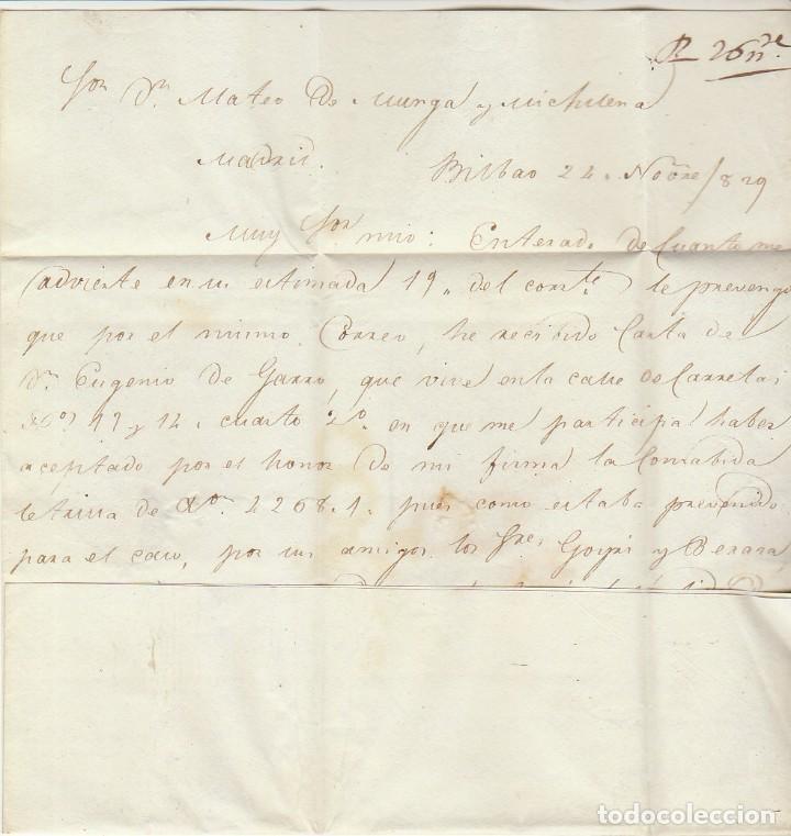 Sellos: BILBAO a BARCELONA. 1829 - Foto 2 - 169677336